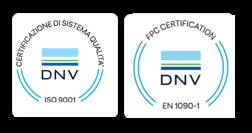 Certificazioni ISO 9001 e EN 1090